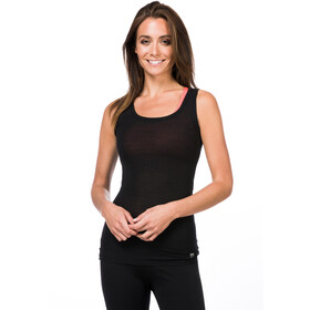 super.natural Rib Débardeur Femme, jet black